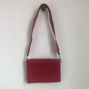 Red & Other Stories cross body bag